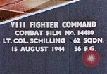 Image of 56th Fighter Group Europe, 1944, second 1 stock footage video 65675051892