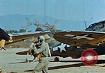 Image of USAAF 57th Fighter Group P-47s Corsica France, 1944, second 10 stock footage video 65675051894