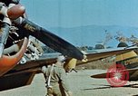 Image of USAAF 57th Fighter Group P-47s Corsica France, 1944, second 14 stock footage video 65675051894