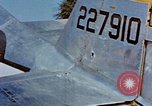 Image of Pilot examines flak damage to his P-47 aircraft Corsica France, 1944, second 33 stock footage video 65675051897