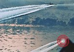 Image of B-52 aircraft bombing run in Vietnam War Guam, 1967, second 37 stock footage video 65675051903