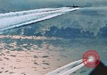 Image of B-52 aircraft bombing run in Vietnam War Guam, 1967, second 39 stock footage video 65675051903