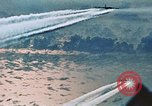 Image of B-52 aircraft bombing run in Vietnam War Guam, 1967, second 40 stock footage video 65675051903