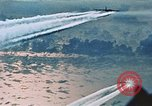 Image of B-52 aircraft bombing run in Vietnam War Guam, 1967, second 41 stock footage video 65675051903