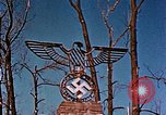 Image of Nazi iron Swastika Remagen Germany, 1945, second 55 stock footage video 65675051917
