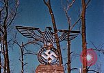 Image of Nazi iron Swastika Remagen Germany, 1945, second 56 stock footage video 65675051917