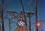 Image of Nazi iron Swastika Remagen Germany, 1945, second 57 stock footage video 65675051917