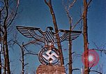 Image of Nazi iron Swastika Remagen Germany, 1945, second 58 stock footage video 65675051917