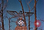 Image of Nazi iron Swastika Remagen Germany, 1945, second 59 stock footage video 65675051917