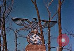 Image of Nazi iron Swastika Remagen Germany, 1945, second 60 stock footage video 65675051917