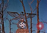 Image of Nazi iron Swastika Remagen Germany, 1945, second 61 stock footage video 65675051917