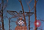 Image of Nazi iron Swastika Remagen Germany, 1945, second 62 stock footage video 65675051917