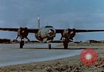 Image of Martin B-26 Marauder aircraft France, 1945, second 55 stock footage video 65675051954