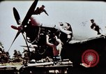 Image of airmen Corsica France Alto Air Base, 1944, second 4 stock footage video 65675051968