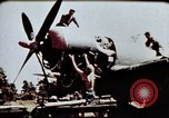 Image of airmen Corsica France Alto Air Base, 1944, second 5 stock footage video 65675051968