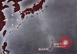 Image of General Curtis LeMay leads bombing of Japan Guam Mariana Islands, 1945, second 33 stock footage video 65675051971