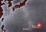 Image of General Curtis LeMay leads bombing of Japan Guam Mariana Islands, 1945, second 34 stock footage video 65675051971