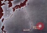 Image of General Curtis LeMay leads bombing of Japan Guam Mariana Islands, 1945, second 36 stock footage video 65675051971
