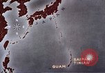 Image of General Curtis LeMay leads bombing of Japan Guam Mariana Islands, 1945, second 39 stock footage video 65675051971