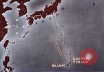 Image of General Curtis LeMay leads bombing of Japan Guam Mariana Islands, 1945, second 41 stock footage video 65675051971