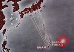 Image of General Curtis LeMay leads bombing of Japan Guam Mariana Islands, 1945, second 42 stock footage video 65675051971