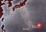 Image of General Curtis LeMay leads bombing of Japan Guam Mariana Islands, 1945, second 43 stock footage video 65675051971
