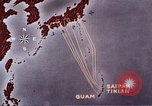 Image of General Curtis LeMay leads bombing of Japan Guam Mariana Islands, 1945, second 44 stock footage video 65675051971