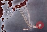 Image of General Curtis LeMay leads bombing of Japan Guam Mariana Islands, 1945, second 46 stock footage video 65675051971