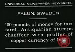 Image of antiquarian Falun Sweden, 1931, second 5 stock footage video 65675051977