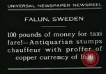 Image of antiquarian Falun Sweden, 1931, second 6 stock footage video 65675051977