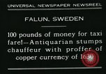 Image of antiquarian Falun Sweden, 1931, second 7 stock footage video 65675051977