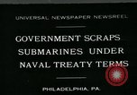 Image of submarine Philadelphia Pennsylvania USA, 1931, second 1 stock footage video 65675051982