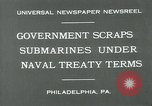 Image of submarine Philadelphia Pennsylvania USA, 1931, second 4 stock footage video 65675051982