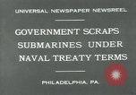 Image of submarine Philadelphia Pennsylvania USA, 1931, second 7 stock footage video 65675051982