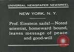 Image of Albert Einstein in United States New York City USA, 1931, second 10 stock footage video 65675051983