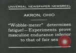 Image of Wobble Meter Akron Ohio USA, 1931, second 2 stock footage video 65675051984