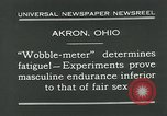 Image of Wobble Meter Akron Ohio USA, 1931, second 4 stock footage video 65675051984
