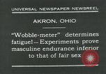 Image of Wobble Meter Akron Ohio USA, 1931, second 5 stock footage video 65675051984