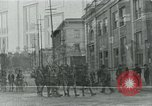 Image of National Guard troops patrol after Armistice Day incident Centralia Washington USA, 1919, second 20 stock footage video 65675052001