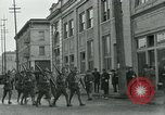 Image of National Guard troops patrol after Armistice Day incident Centralia Washington USA, 1919, second 21 stock footage video 65675052001