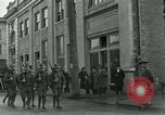 Image of National Guard troops patrol after Armistice Day incident Centralia Washington USA, 1919, second 22 stock footage video 65675052001