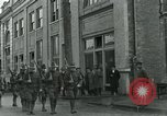 Image of National Guard troops patrol after Armistice Day incident Centralia Washington USA, 1919, second 23 stock footage video 65675052001
