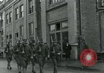 Image of National Guard troops patrol after Armistice Day incident Centralia Washington USA, 1919, second 24 stock footage video 65675052001