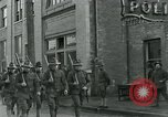 Image of National Guard troops patrol after Armistice Day incident Centralia Washington USA, 1919, second 25 stock footage video 65675052001