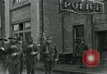 Image of National Guard troops patrol after Armistice Day incident Centralia Washington USA, 1919, second 27 stock footage video 65675052001