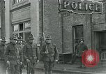 Image of National Guard troops patrol after Armistice Day incident Centralia Washington USA, 1919, second 28 stock footage video 65675052001