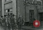 Image of National Guard troops patrol after Armistice Day incident Centralia Washington USA, 1919, second 29 stock footage video 65675052001