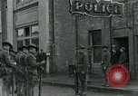 Image of National Guard troops patrol after Armistice Day incident Centralia Washington USA, 1919, second 30 stock footage video 65675052001