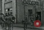 Image of National Guard troops patrol after Armistice Day incident Centralia Washington USA, 1919, second 31 stock footage video 65675052001