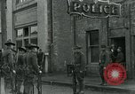 Image of National Guard troops patrol after Armistice Day incident Centralia Washington USA, 1919, second 32 stock footage video 65675052001
